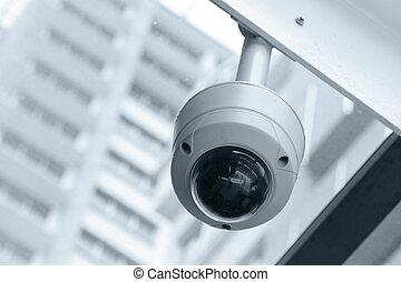 kuppel, type, cctv kamera