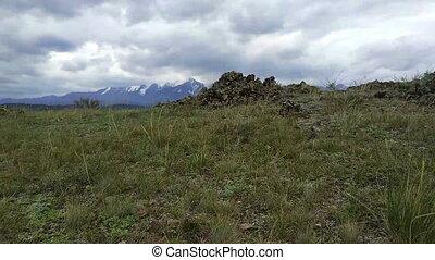 kurai, steppe, und, north-chui, bergrücken