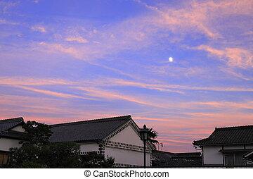 Kurashiki Bikan historical quarter in Okayama, Japan (...