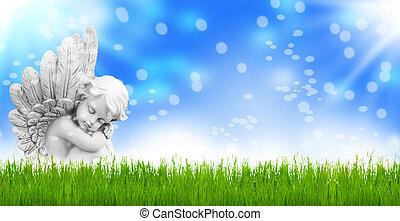 kurator, wielkanoc, anioły