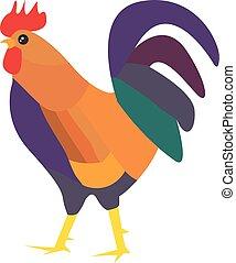 kurczak, ilustracja