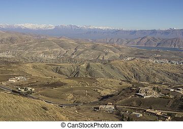 kurdistan, irak, region), berge, (northern