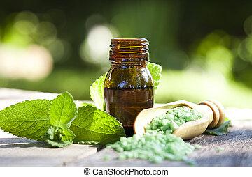 kurort, och, alternativ, naturlig medicin