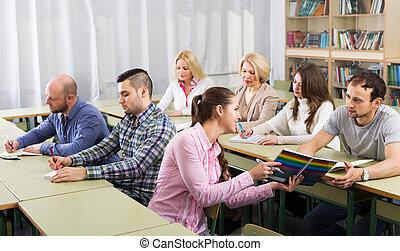 kurser, studerende, udvidelse