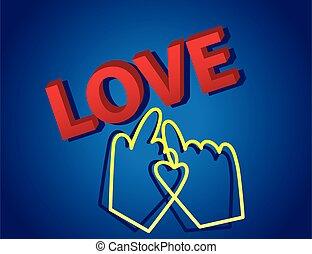 kursor, tekst, miłość, 3d