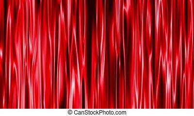 kurtyna, czerwony, 4k