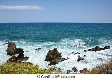 kust, aanzicht