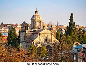 kutaisi, católico, iglesia