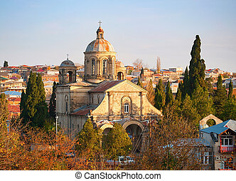 Catholic Church in Kutaisi (now Georgian Orthodox Church of Annunciation).