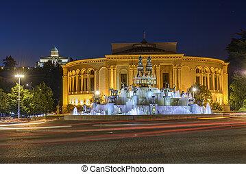 Kutaisi Central square, Georgia