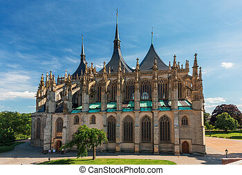 Kutna Hora, St. Barbara's Church, Czech Republic