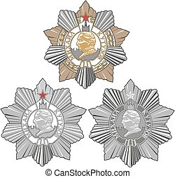 kutuzov, soviético, orden