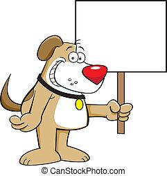 kutya, aláír