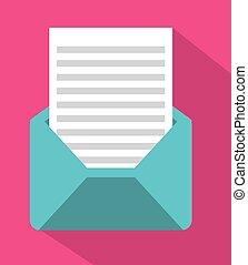 kuvert, posta
