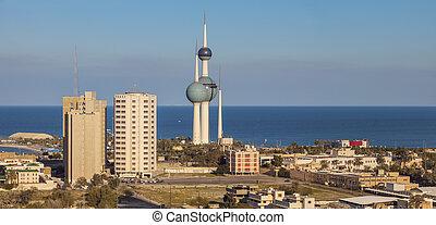 Kuwait City panorama