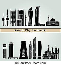 Kuwait City V2 Landmarks
