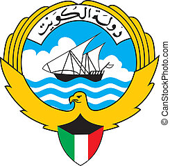 Kuwait coa - Various vector flags, state symbols, emblems of...