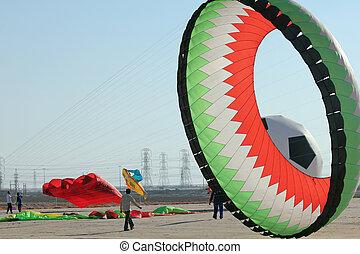 Kuwait Flag Kite
