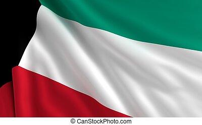 kuwait flagg