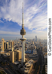 Kuwait from the sky - Some famous places in kuwait from the ...