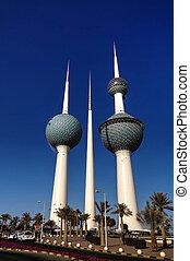 Kuwait Towers,Water reservoir