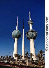 Kuwait Towers,Water reservoir