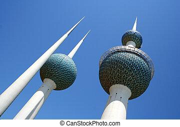 Kuwait Towres, Kuwait city