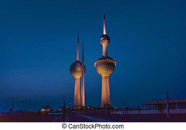 Kuwait water Towers
