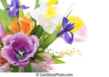 květ, pramen