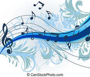 květinový, hudba