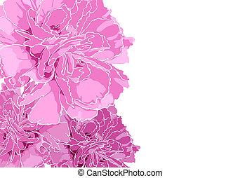 květinový, ilustrace