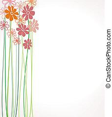 květiny, barva