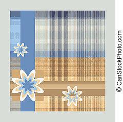 květiny, poráka grafické pozadí