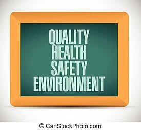 kvalitet, hälsa, säkerhet