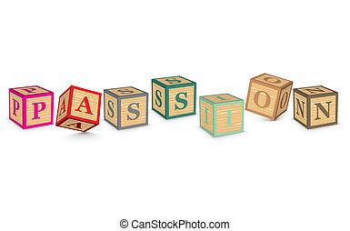 kvarter, skriftligt, passion, ord