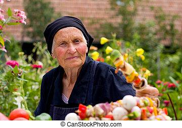 kvinna, äldre