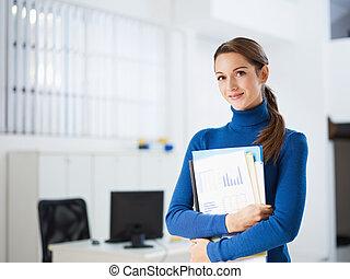 kvinnlig, assistent