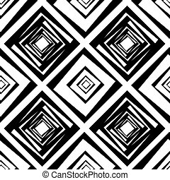 kwadraty, próbka, wektor, seamless, ilustracja
