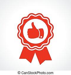 kwaliteit, best, certificaat, borg staan voor