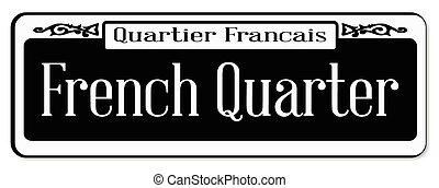 kwart, franse
