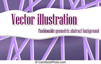 kwestia, abstrakcyjny, wektor, illustration., tło