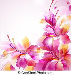 kwiat, abstrakcyjny