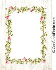 kwiat, frame., ślub