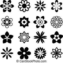 kwiat, ikony