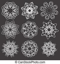 kwiatowe elementy