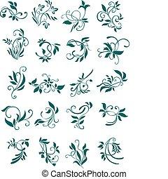 kwiatowe wzory