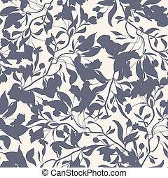 kwiatowy, pattern., seamles