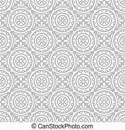 kwiatowy, pattern-wallpaper, srebro