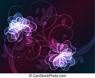 kwiatowy, pattern.