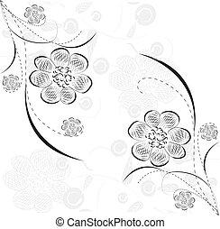 kwiatowy, szykowny